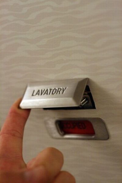 How To Open A Locked Airplane Lavatory - ConcourseA.com